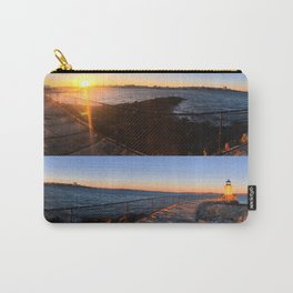 February Sunset at Bug Light (3) Carry-All Pouch