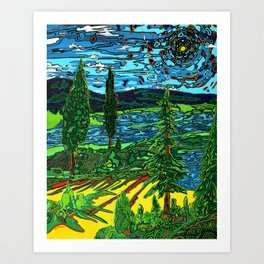 Perception of a Landscape Art Print