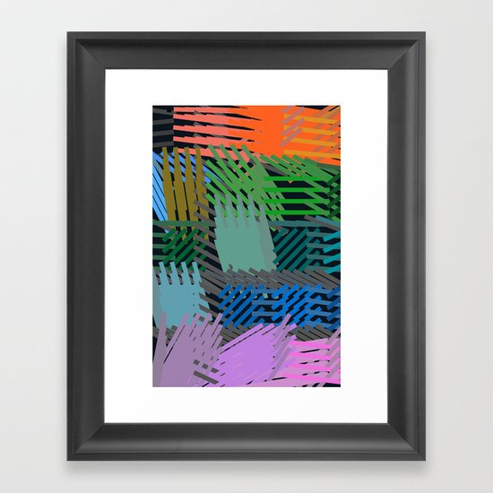 Springing Framed Art Print