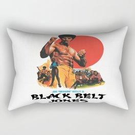 Black Belt Jones Rectangular Pillow