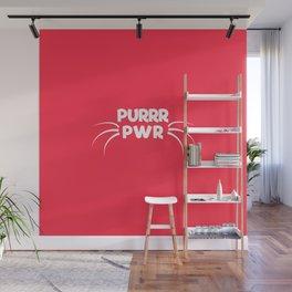 PURRR POWER Wall Mural