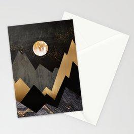 Metallic Night Stationery Cards