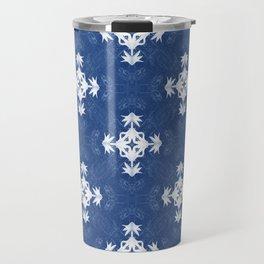 Pleasure in Blue... Travel Mug