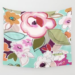 Dufy floral  Wall Tapestry