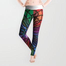 """""""Jolisha"""" Watercolor Mandala Leggings"""