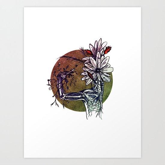 Bouquet de Nerfs Art Print