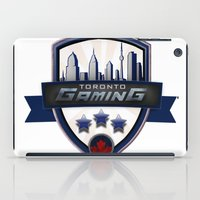gaming iPad Cases featuring Toronto Gaming by rramrattan