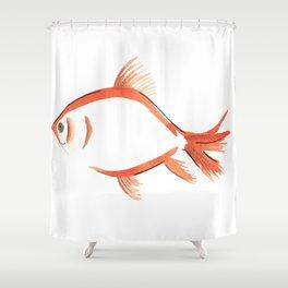 Fantail Goldfish Shower Curtain