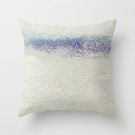 Hulzenko Purple Blue Silver Sky Throw Pillow
