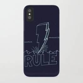 The Day We Rule iPhone Case