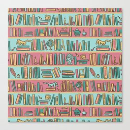 library 2 Canvas Print