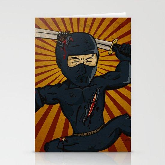 DK Ninja Stationery Cards