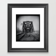 'Trestle' Framed Art Print