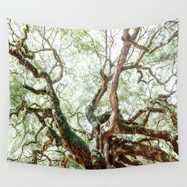 Angel Oak Tree Wall Tapestry