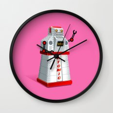 Madame Atomique Wall Clock