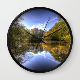 The Silent Pond Wall Clock