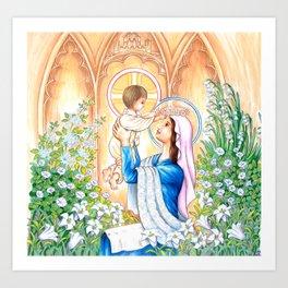 May Coronation Art Print