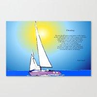 destiny Canvas Prints featuring Destiny by Artisimo