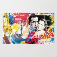 casablanca Area & Throw Rugs featuring Casablanca by Paky Gagliano