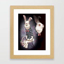 Awkward Easter Framed Art Print