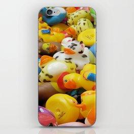 Rubber Duckies iPhone Skin