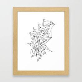 Geometric on the N Framed Art Print