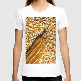 Yellow corn T-shirt