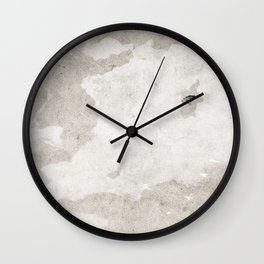soft grey texture Wall Clock