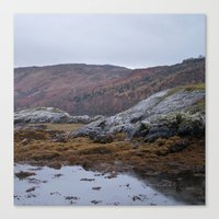 scotland Canvas Prints featuring Scotland by TH Yü