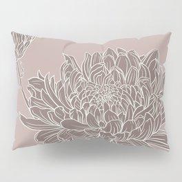 Chrysanthemum Purple Pillow Sham