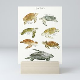 Sea Turtles Mini Art Print