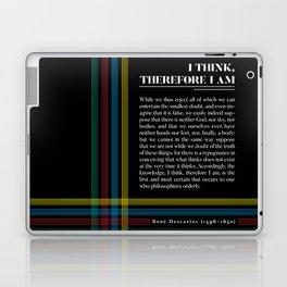 Philosophia II: I think, therefore I am Laptop & iPad Skin