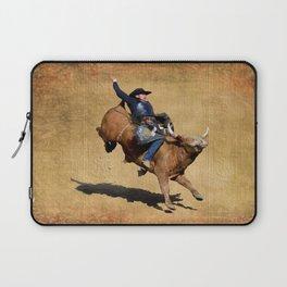 Bull Dust! - Rodeo Bull Riding Cowboy Laptop Sleeve