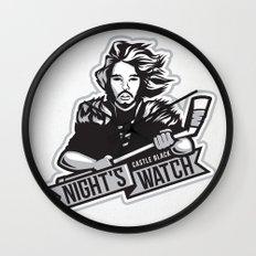 Castle Black Night's Watch  Wall Clock