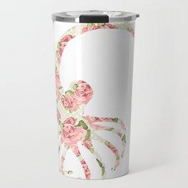 Floral Facehugger Travel Mug
