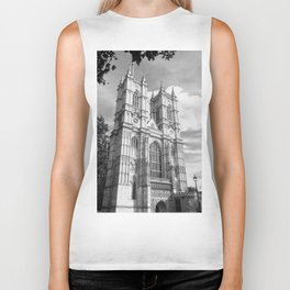 Classic Westminster Abbey of London Biker Tank