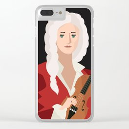 great italian classical music composer Clear iPhone Case