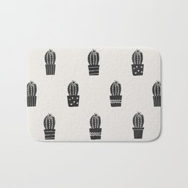 Stamped Potted Cacti Bath Mat
