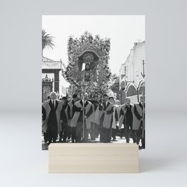 Santo Cristo procession Mini Art Print