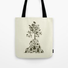 Music Tree Tote Bag