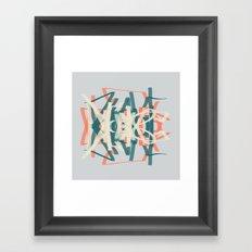 Right, Let's Drive Framed Art Print
