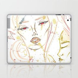 Dreaming Girl Laptop & iPad Skin