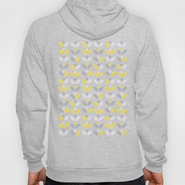 Yellow and Grey Abstract Flower Pattern #society6 #decor #buyart #artprint Hoody