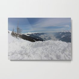 Wunderfull Snow Mountain(s) 6 Metal Print