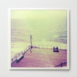 Santa Monica Boardwalk Metal Print