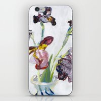 german iPhone & iPod Skins featuring German Iris by Shinichi Imanaka