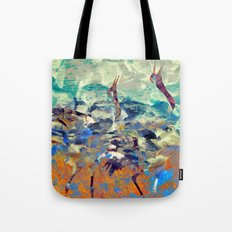 ...it obstructs my view of Venus. Tote Bag