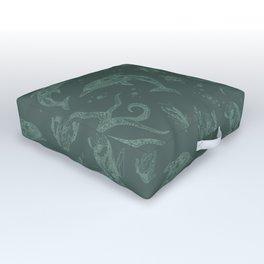 Shafted Sea Outdoor Floor Cushion