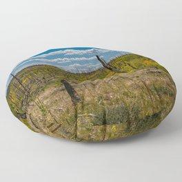 0645 - Autumn Color, North Rim, Grand Canyon Floor Pillow