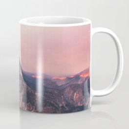 Purple Yosemite Valley in California United States of America Coffee Mug
